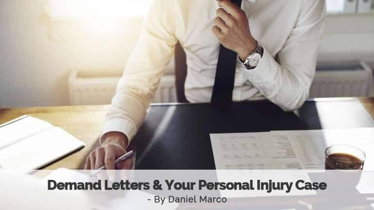 Demand Letters and Your Personal Injury Case Mesa