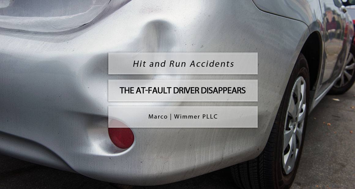 hit run accidents at fault driver disappears