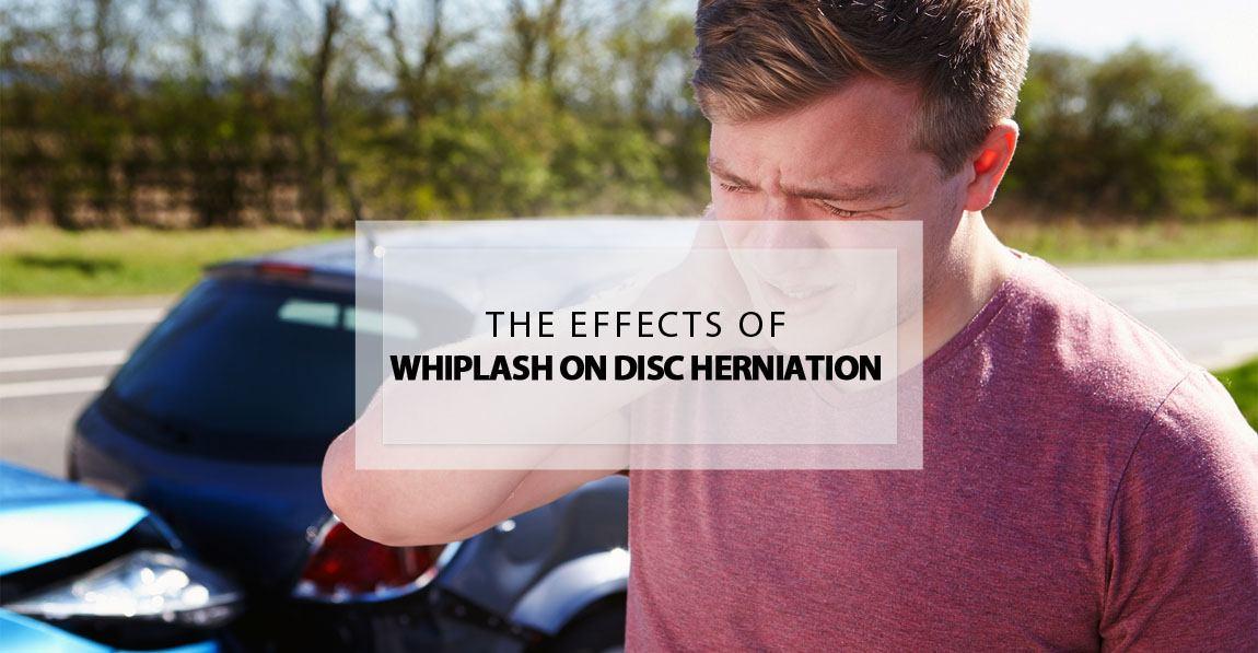 whiplash disc herniation effects